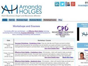 Amanda Holges Website