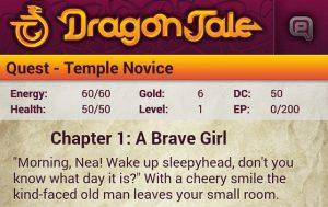 Dragon Tale Game