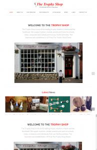 The Trophy Shop Website